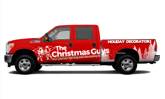 christmas light installers albany the christmas guys franchise truck
