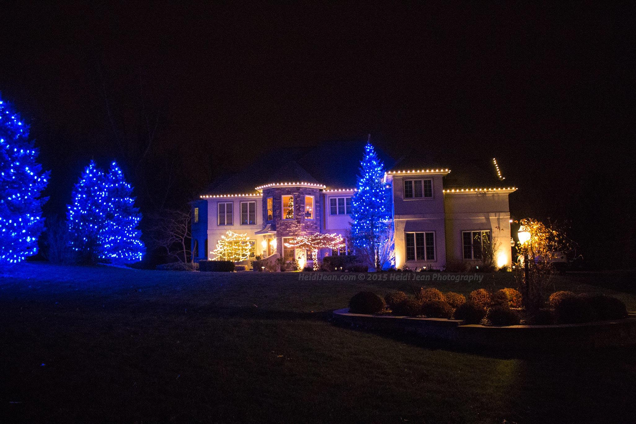 christmas light decoration company decoration image idea - C9 Warm White Led Christmas Lights