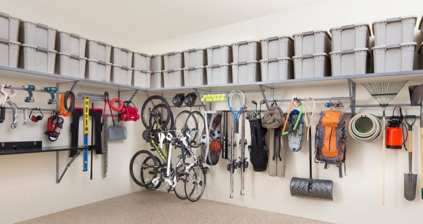 How To Optimize The E In Your Garage For Holiday Storage
